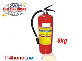 Bình bột chữa cháy 8kg MFZ8