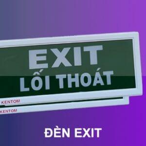 Đèn chỉ dẫn thoát nạn exit