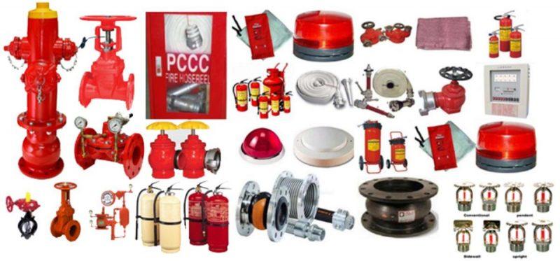 Các thiết bị có trong báo giá thi công hệ thống phòng cháy chữa cháy