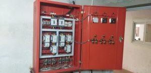Một bộ phận của hệ thống phòng cháy chữa cháy
