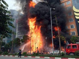 An toàn hơn với hệ thống phòng cháy chữa cháy