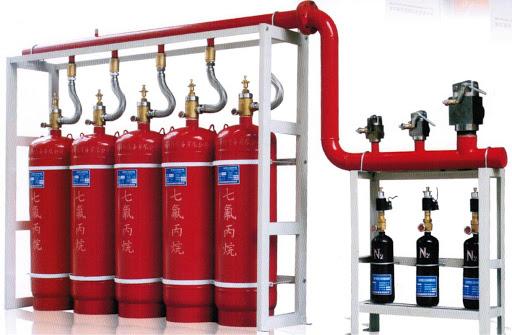 Hệ thống chữa cháy khí