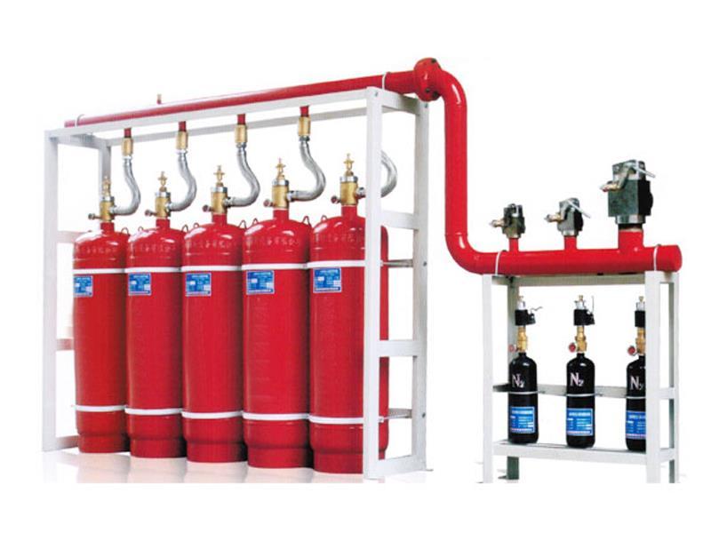 Mô hình hệ thống chữa cháy khí FM200